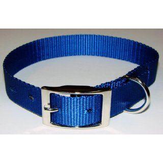 Sav A Jake Firefighter Gear Tools K 9 Dog Collar Blue Webbing & Metal Buckle LARGE Industrial & Scientific