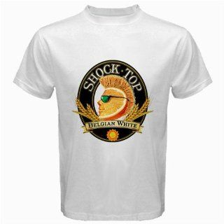 "Shock Top Belgium Beer Logo New White T Shirt Size "" M "": Everything Else"