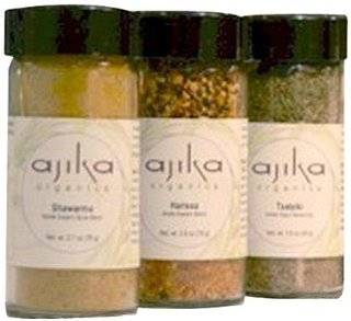 Ajika organic Harvest Spice Blend Gift Set, 16 Ounce: Grocery & Gourmet Food