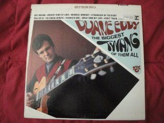 Duane Eddy 'The Biggest Twang Of Them All' Original 1966 Reprise Riverboat Label RS 6218 Stereo Vinyl Lp Record EX: Music