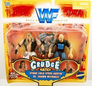 WWF WWE Grudge Match Stone Cold Steve Austin vs. Shawn Michaels: Toys & Games