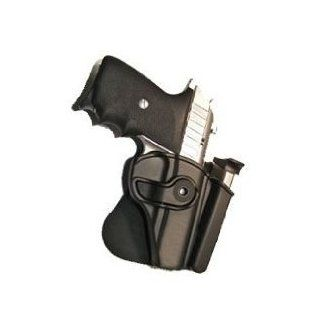 RSR Defense RH Ruger LCP .380 Retention Roto Paddle Gun Pistol Holster W/Integrated Mag Pouch   Right Handed Sports & Outdoors