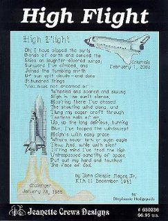 High Flight   Cross Stitch Pattern