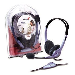 Genius HS 04V. Headset with Bass Vibration. Inline bass vibration and volume control for games and music. Electronics