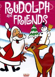 Rudolph & Friends Rudolph the Red Nosed Reindeer+The Christmas Visitor+Merrie Melodies, The Shanty Where Santy Claus Lives+The Candle maker+The Little Angel+Santa and The 3 Bears (Color Toned & Color)(Slim Case)(Vintage Cartoon) Movies & TV