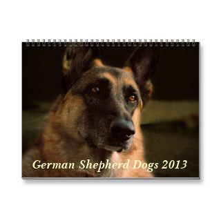 German Shepherd Dog 2013 Calendar