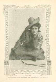 1907 Print Actress Julia Dean: Everything Else