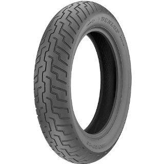 Dunlop D404 Cruiser Motorcycle Tire   Black   80/90 21 / Front: Automotive