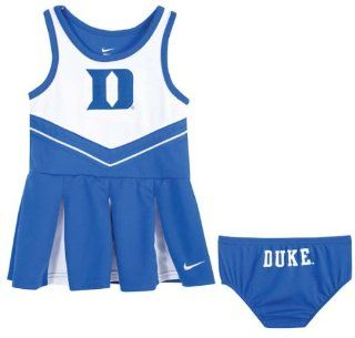 Duke Blue Devils Nike Girl's Cheerleader Dress and Bloomers  Infant And Toddler Sports Fan Apparel  Sports & Outdoors