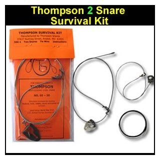 Thompson 2 Snares Survival Kit: Sports & Outdoors