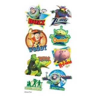 12 PACK PUFFY STIX TOY STORY Papercraft, Scrapbooking (Source Book)