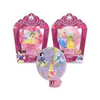 Disney Princess Night Lights  3 Assorted   Childrens Night Lights