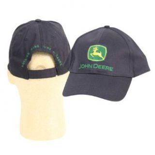 John Deere Adjustable Baseball Hat   Navy at  Men�s Clothing store