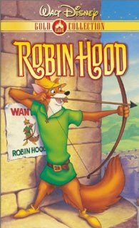Robin Hood (Disney) [VHS]: Brian Bedford, Phil Harris, Roger Miller, Peter Ustinov, Terry Thomas, Monica Evans, Andy Devine, Carole Shelley, Pat Buttram, George Lindsey, Ken Curtis, Candy Candido, Wolfgang Reitherman, David Michener, Eric Cleworth, Frank T