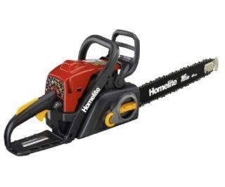 Factory Reconditioned Homelite ZR10560 16 Inch 38cc 2 Stroke Gas Powered Chain Saw With Tool Less Chain Tensioning (Discontinued by Manufacturer)  Patio, Lawn & Garden