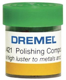 Dremel Mfg 421 1 Oz. Metal & Plastic Cleaner & Polisher   Quantity 5 Rotary Power Tool Accessories