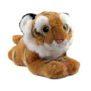 Big Eye Tiger Stuffed Animal by SOS Toys & Games
