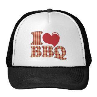 I Love BBQ Hat