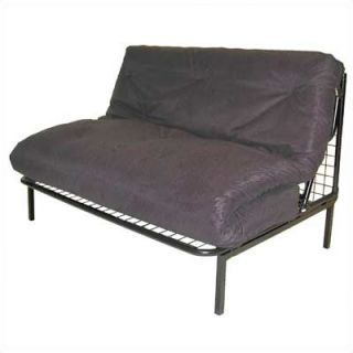 Elite Products Modern Loft E Frame Futon and Mattress