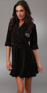 Juicy Couture Hearts Velour Robe