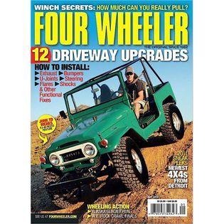 4 Wheel ATV Action Magazine   Books & Magazines   Magazines   Trucks & Off Road