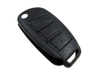 iJDMTOY Soft Silicone Remote Smart Key Holder Fob For Audi A3 A4 A6 A8 Q7 TT, etc