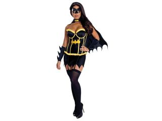 Justice League Sexy Batgirl Corset Adult Costume