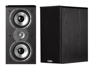 Polk Audio TSi200 Bookshelf Loudspeaker Black Pair