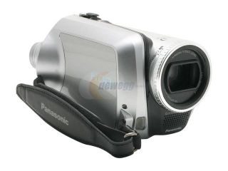 Panasonic SDR H200 Black&Silver 3CCD 10X Variable Speed  30GB Hard Disk Drive/SD Palmcorder Camcorder
