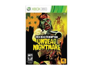 Red Dead Redemption: Undead Nightmare Collection Xbox 360 Game Rockstar Gaming