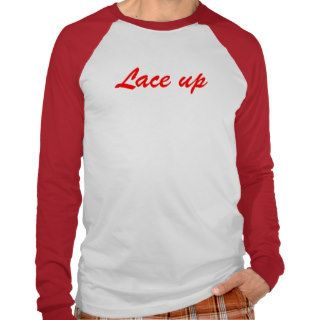 lace up mgk long sleeve tee shirt