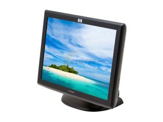 "HP L5006tm Carbon 15"" Dual serial/USB Surface Acoustic Wave Touchscreen LCD Monitor 230 cd/m2 400:1"