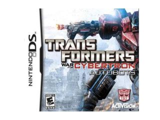 Transformers: War for Cybertron Autobots Nintendo DS Game Activision