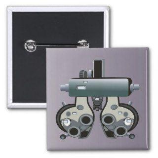 Doctor 7 Optometry Optometrist Eye Exam Pin