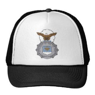 United States Air Force Security Forces Badge Hat