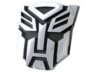 Transformers Autobots Logo 3D Car Hood Ornament / Decal