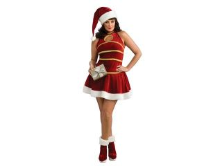 Sexy Female Santa Christmas Dress Adult Costume Plus Size