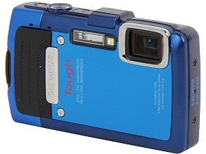 OLYMPUS TG 830 iHS V104130SU000 Silver 16 MP 5X Optical Zoom Waterproof Shockproof Wide Angle Digital Camera HDTV Output