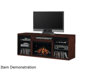 """ClassicFlame Alexander Collection 70"""" Wide Media Mantel Electric Fireplace (Midnight Cherry) 26MM1404 C245"""
