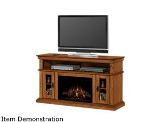 """ClassicFlame Brookfield Collection 60"""" Wide Media Mantel Electric Fireplace (Premium Oak) 26MM2209 O107"""