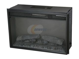 ClassicFlame Electric Fireplace Fixed Front insert with Backlit Display Black 26EF022GRA