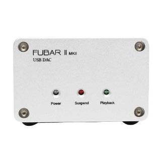 Firestone Audio Fubar 2 MkII USB DAC   Black  Players