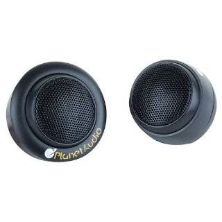 Planet Audio P18TW 3/4 Inch Soft Silk Dome Tweeter