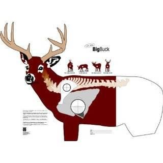 Hoppes Critter Paper Targets   Big Buck, Deer, 28X28 Inch