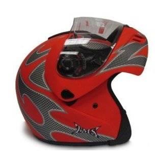 Motorcycle Street Sport Bike Full Face Helmet DOT (Medium) Automotive