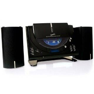 Wall Mount Micro Shelf Radio  CD Player w/ Alarm Clock Electronics