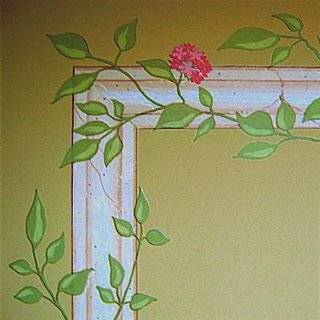 English Ivy Vine Rub on Transfer Mural/Wall Tattoo/4
